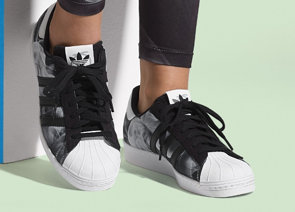 Adidas Superstar 80's White Smoke par Rita Ora (1)
