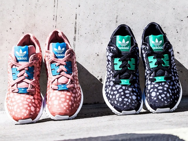 Adidas ZX Flux Decon Ash Pink Bold Aqua (rose) (2)