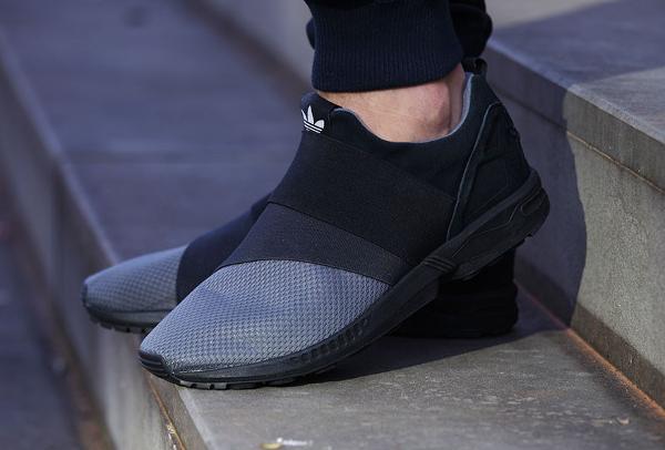 Où acheter la Adidas ZX Flux Slip On Granite ?   Sneakers Actus