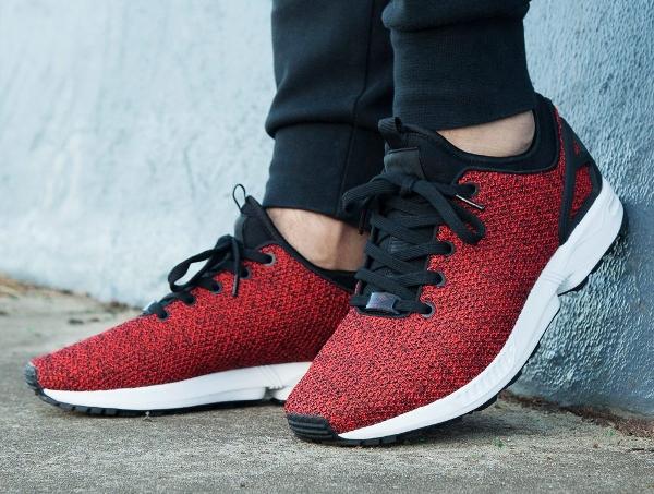 Adidas ZX Flux Weave NPS Net & Mesh Scarlet Red
