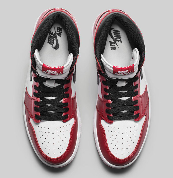 Air Jordan 1 Retro High OG White Varsity Red 2015 (4)
