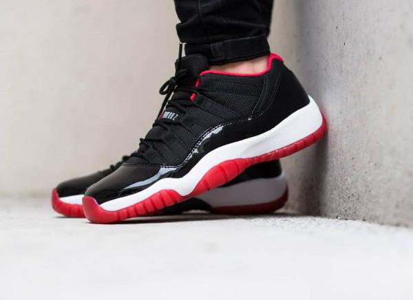 Air Jordan 11 Low Bred (femme) (4)