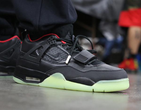Air Jordan 4 x Yeezy 2 Black Solar Red - Sneaker News