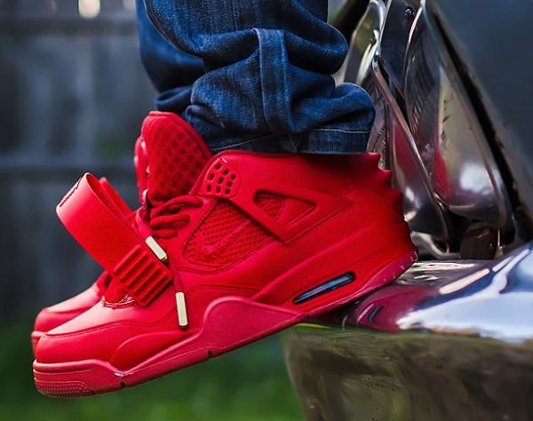 Air Jordan 4 x Yeezy 2 Red October - Franck Louboutin-2