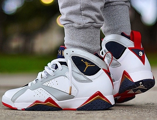 Air Jordan 7 Retro Olympic - Latinsole