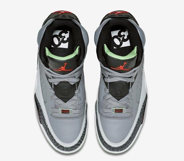 Air Jordan Son Of Mars Low Cool Grey Light Poison Green (3)