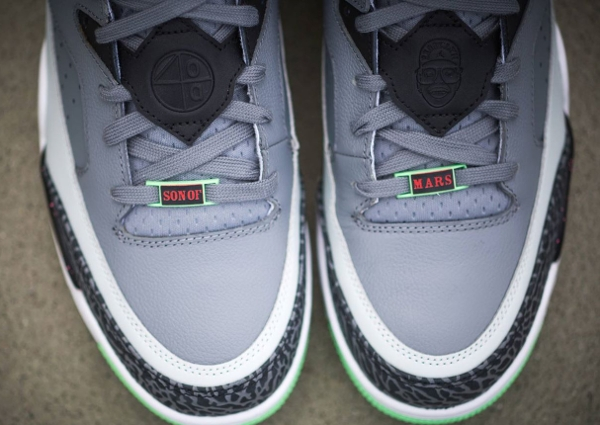 Air Jordan Son Of Mars Low Cool Grey Light Poison Green (4)