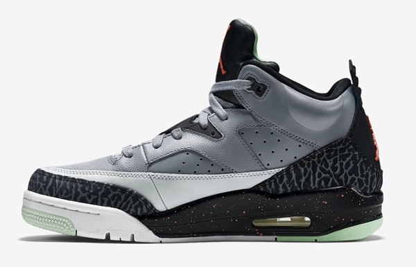 Air Jordan Son Of Mars Low Grey Poison Green  (1)