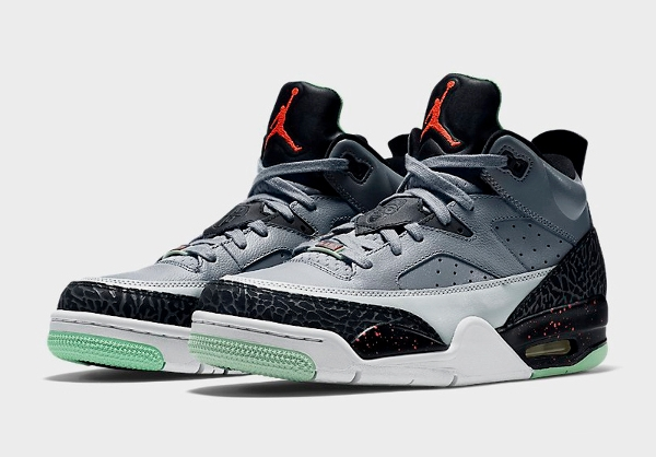 Air Jordan Son Of Mars Low Grey Poison Green  (2)
