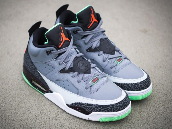 Air Jordan Son Of Mars Low Grey Poison Green