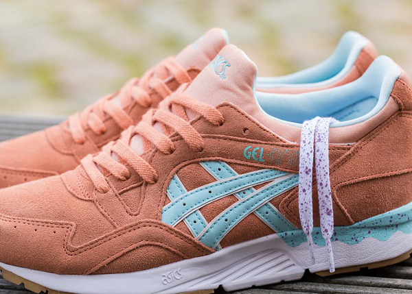 Asics Gel Lyte V Coral Reef Clear Water (2)