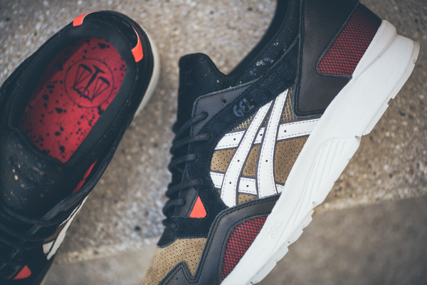 Asics Tiger Gel Lyte V x Highs and Lows 'Medic'  (2)