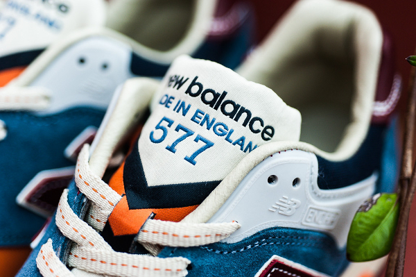 New Balance M577 Light Blue Orange (1)