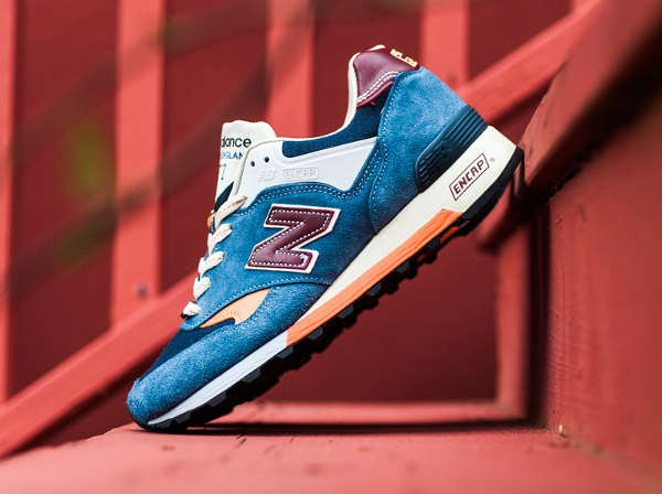 New Balance M577 Light Blue Orange (2)