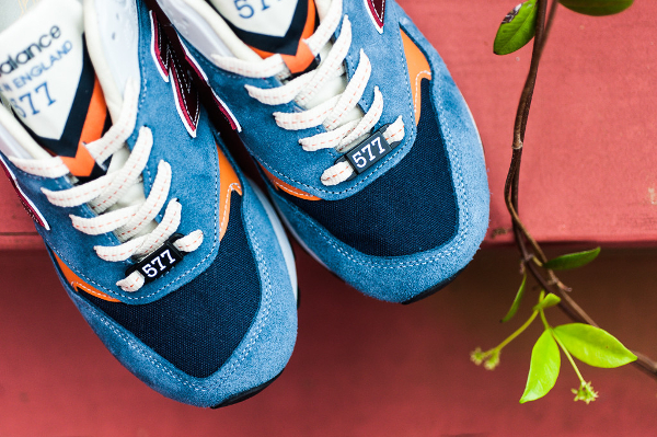 New Balance M577 Light Blue Orange (5)