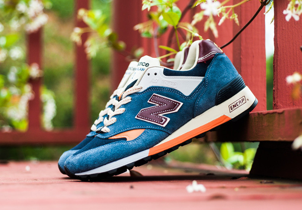New Balance M577 Light Blue Orange (6)
