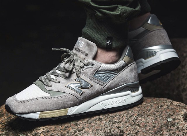 New Balance M998 CEL Connoisseur Guitar Grey Gold (1)