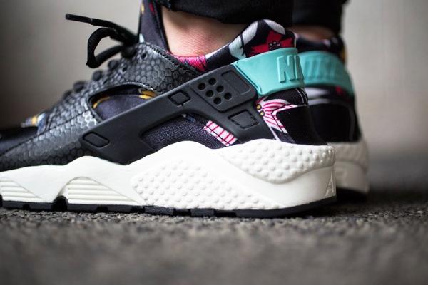 Nike Air Huarache Aloha Black Artisan Teal (3)