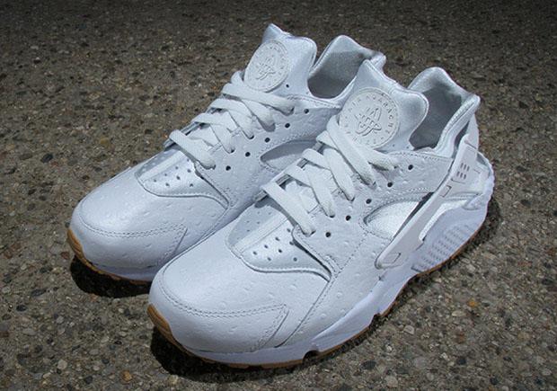 Nike Air Huarache Ostrich White Gum