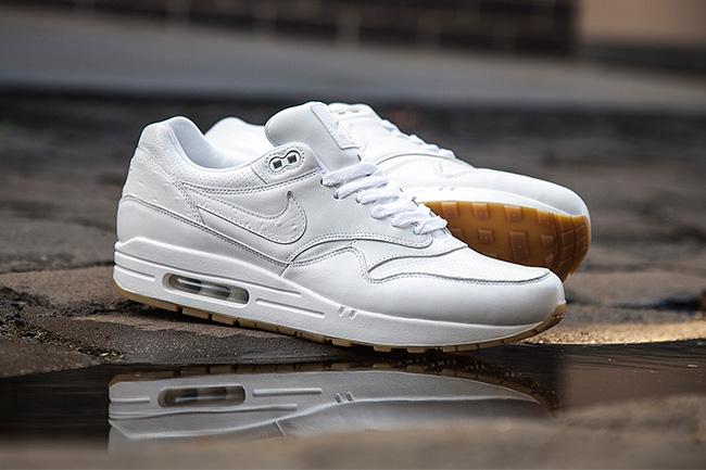 Nike Air Max 1 Leather White Gum