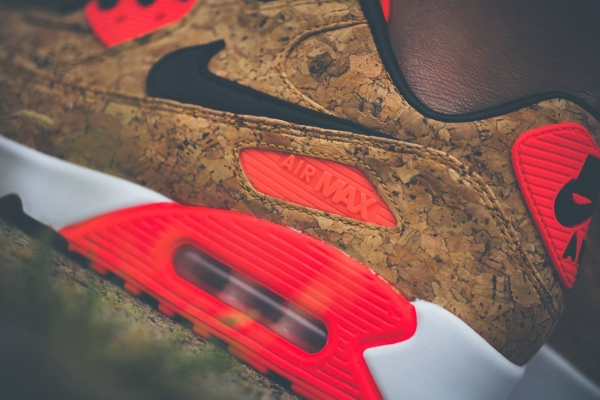 Nike Air Max 90 25th Anniversary Cork Infrared (femme) (1)
