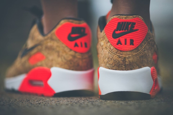 Nike Air Max 90 25th Anniversary Cork Infrared (femme) (2)