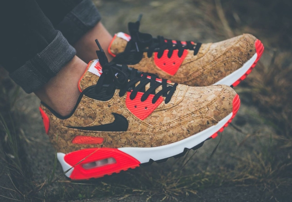 Nike Air Max 90 Cork Infrared Bronze (femme) (2)