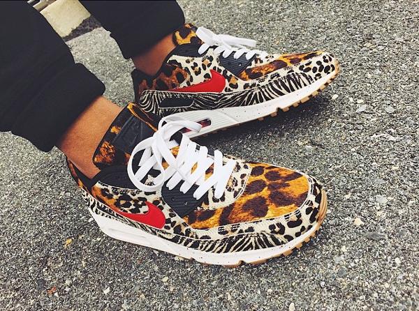 nike leopard zebre