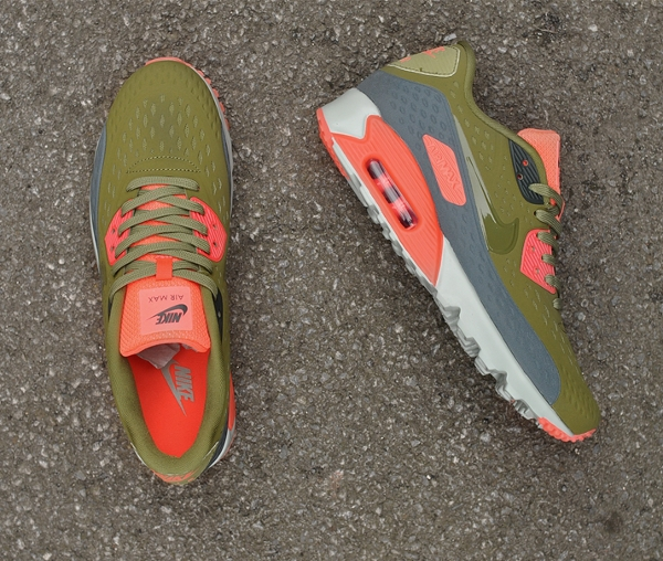 Nike Air Max 90 Ultra BR Infrared Scenery Green