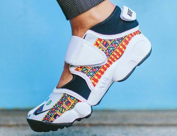 Plisado préstamo explotar  Nike Air Rift x Liberty Merlin | Sneakers-actus.fr