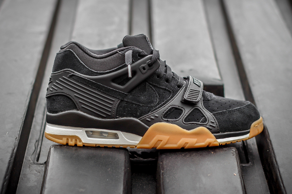 Nike Air Trainer 3 Black Gum Suede (2)