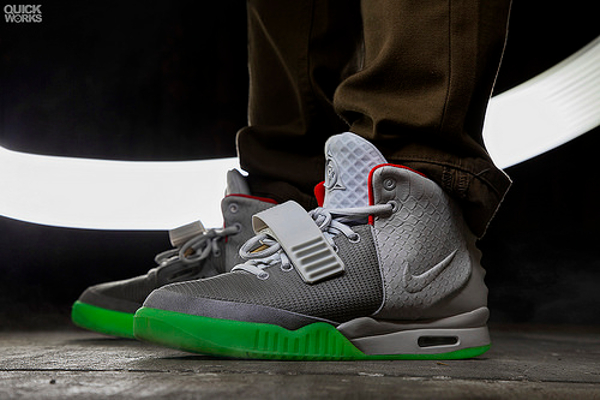 Nike Air Yeezy 2 Pure Platinum - Patrick Lauder