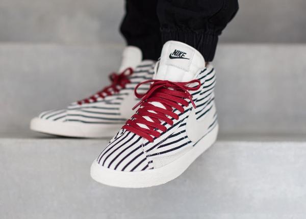 Nike Blazer Mid Pinstripes PRM VTNG QS (rayures) (3)