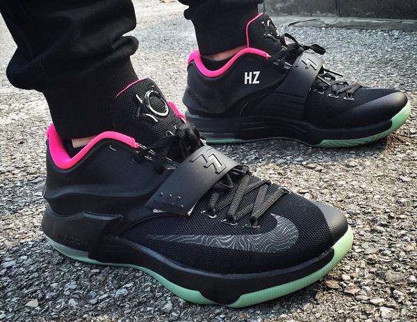 Nike KD 7 ID Yeezy Solar Red - linhongzhou111
