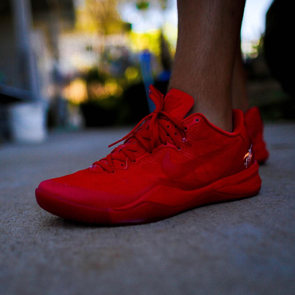 Nike Kobe 8 Yeezy Red October - KCbruins