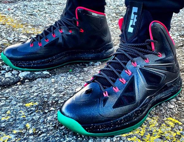 Nike Lebron X Solar Red - Yousefnajjar