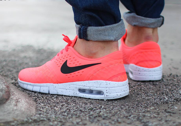 Nike SB Eric Koston 2 Max White Black Hot Lava  (3)
