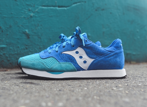 Saucony DXN Trainer Teal Blue White Bermuda (1)