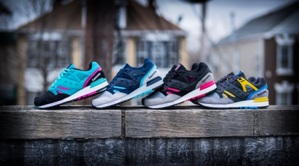Saucony Grid SD 'Games Pack'