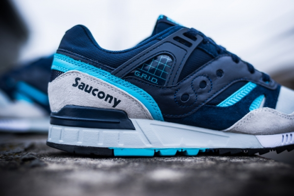 Saucony Grid SD 'Games Pack' Navy Grey (3)