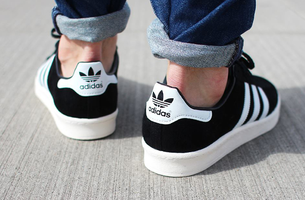 Adidas Campus 80's Core Black Vintage Japan (1)
