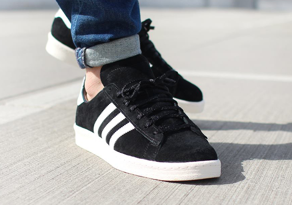 Adidas Campus 80's Core Black Vintage Japan (2)