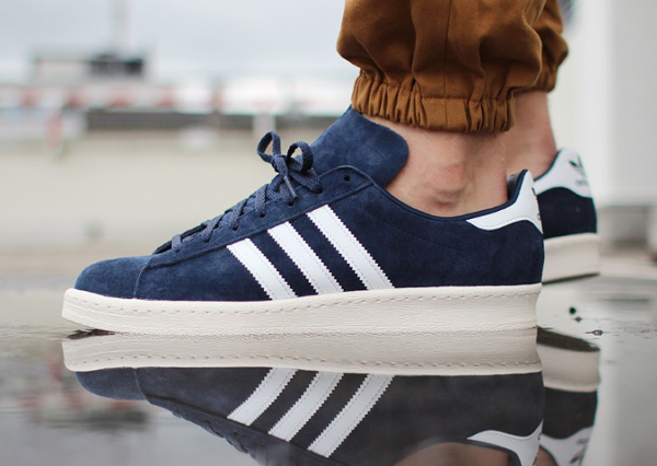 Adidas Campus 80's Dark Blue Vintage Japan (1)