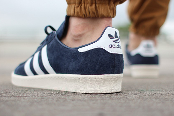 Adidas Campus 80's Dark Blue Vintage Japan (2)