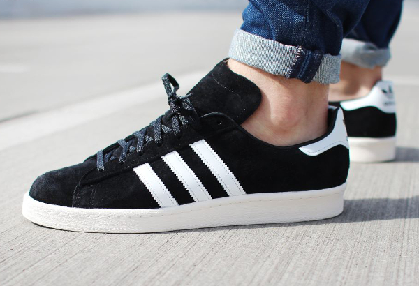 Adidas Campus 80's Vintage Japan Core Black