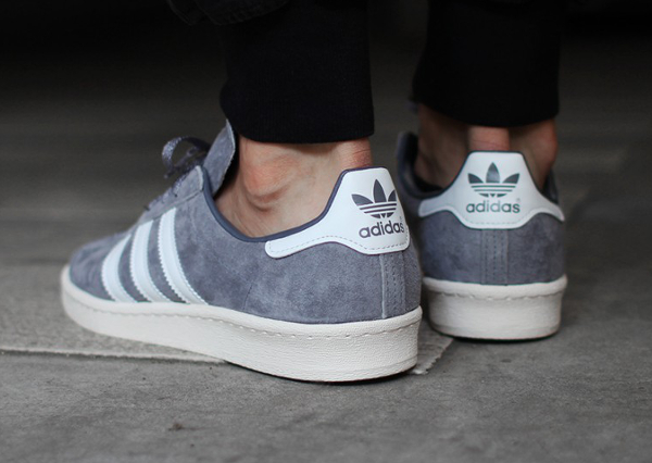 Adidas Campus 80's Vintage Japan Grey White (1)