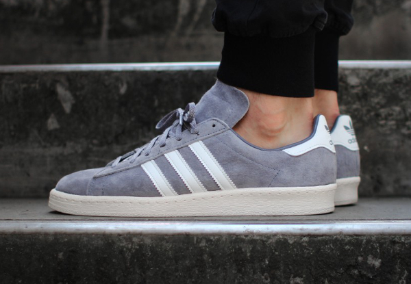 Adidas Campus 80's Vintage Japan Grey White (2)
