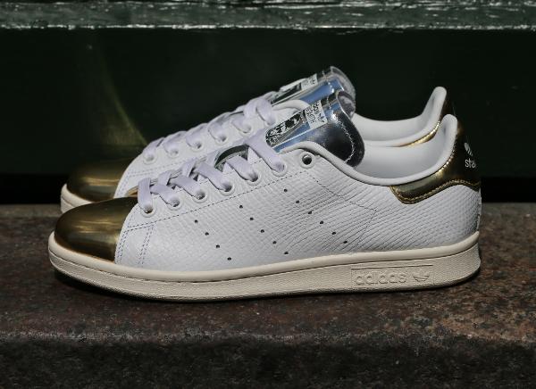 chaussures de sport d8637 6c57a Adidas Stan Smith White Gold Metallic : où l'acheter ?