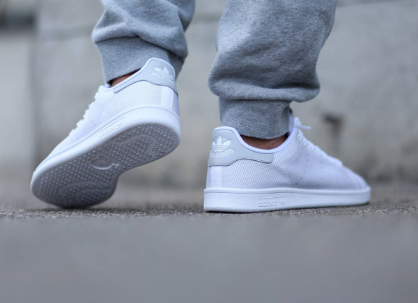 adidas stan smith midsummer weave grey