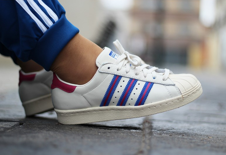 Adidas Superstar 80's 'Chalk White Pink'